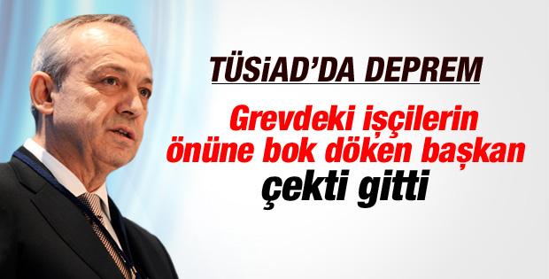TÜSİAD Başkanı Muharrem Yılmaz istifa etti