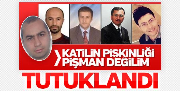 Eskişehir'de 4 kişiyi öldüren zanlı tutuklandı