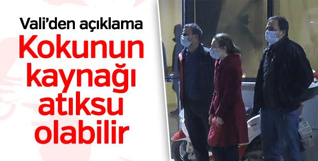 İstanbul Valisi'nden Tuzla'daki koku hakkında açıklama