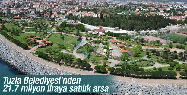 Tuzla Belediyesi'nden 21.7 milyon liraya satılık arsa