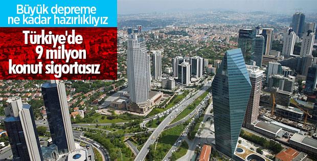İstanbul'da 1,5 milyon konut sigortasız