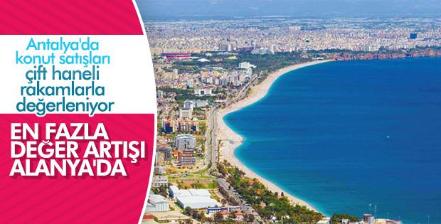 Antalya'da konutlar değerleniyor