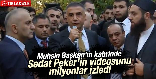 Sedat Peker'in videosu tıklanma rekoru kırdı