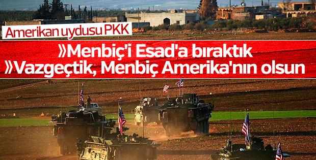 PKK Menbiç'i şimdi de ABD'ye bırakıyor