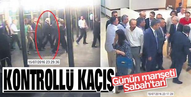 15 Temmuz gecesi Kılıçdaroğlu'nun kaçış anı