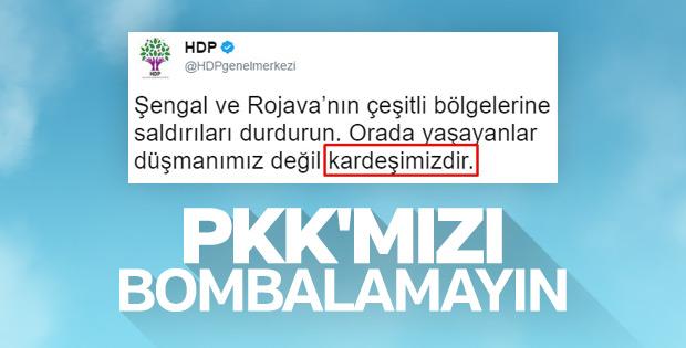 TSK'nın PKK'yı vurması HDP'yi de üzdü