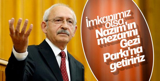 Kılıçdaroğlu'nun Nazım Hikmet'li seçim vaadi