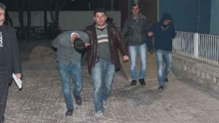 Konya'da yaşanan hırsızlık olayı filmleri aratmadı