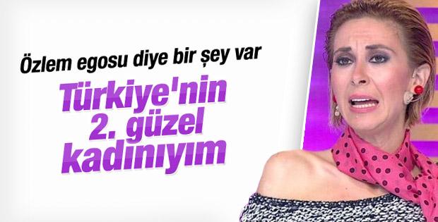 Özlem Özden iddialı konuştu: Türkiye'nin 2. güzeliyim