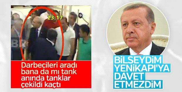 Erdoğan: Bilseydim Yenikapı'ya Kılıçdaroğlu'nu davet etmezdim
