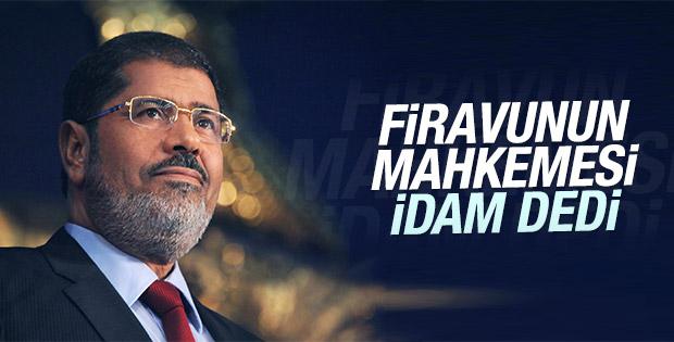 Mursi'nin idam cezası onandı