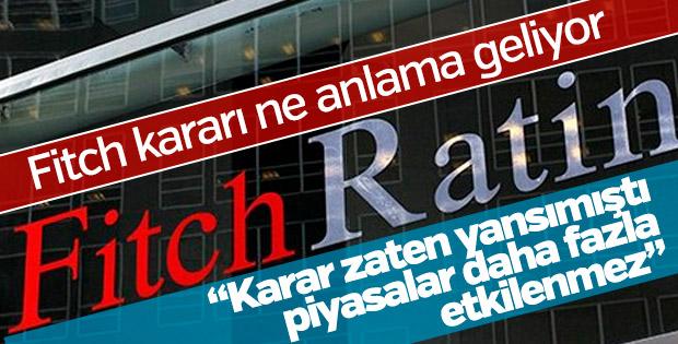 Fitch'in Türkiye notu ne anlama geliyor