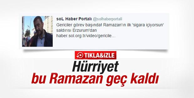 SoL Haber: Erzurum'da gericiler görev başında