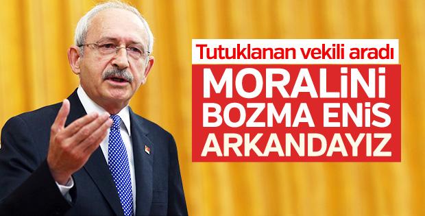 Kılıçdaroğlu Berberoğlu'yla görüştü