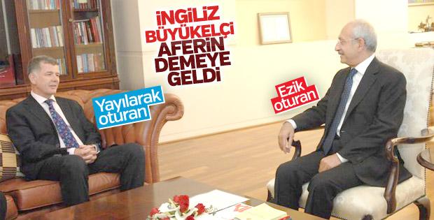 İngiliz elçiden Kılıçdaroğlu'na: Yürüyüşünüz ses getirdi