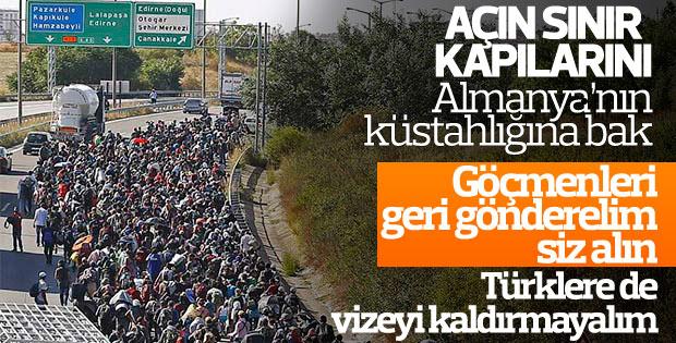 Almanya: Türkiye'yle göçmen anlaşması devam etmeli