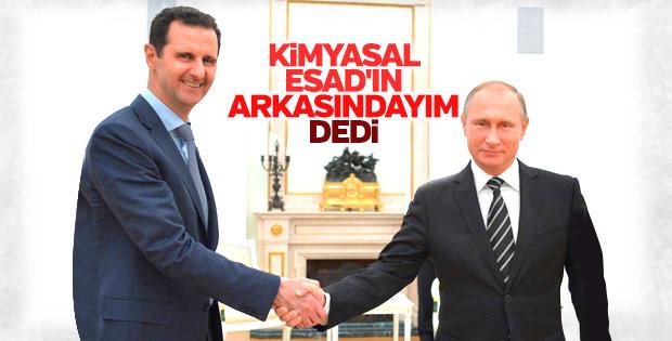 Rusya'dan Esad'a destek açıklaması