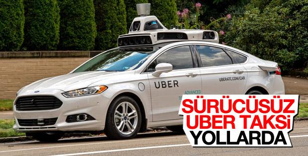 Uber'in sürücüsüz araçları ABD'de hizmete girdi