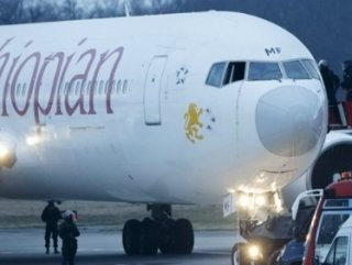 Kaçırılan Etiyopya uçağını İsviçreliler takip etmedi