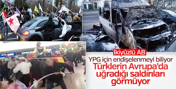 UETD raporu: Avrupa'da Türklere yönelik PKK saldırıları