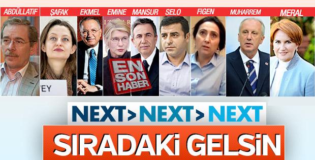 Erdoğan'ı yenecek diye parlatılan 9. isim de boş çıktı