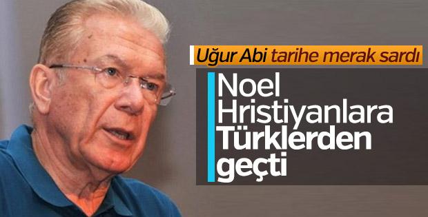 Uğur Dündar'a göre Noel Bayramı Türklere ait