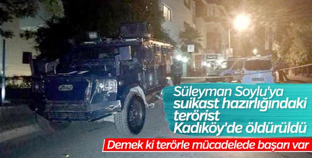Süleyman Soylu'ya saldırı hazırlığındaki terörist öldürüldü