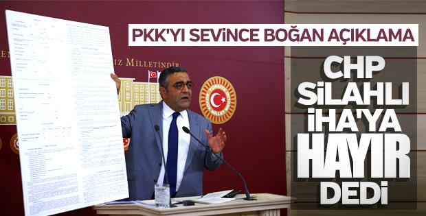CHP'li vekil Tanrıkulu SİHA'lardan şikayetçi