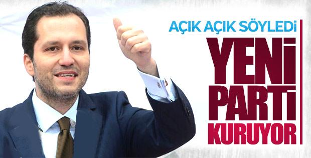 Fatih Erbakan'dan yeni parti işareti