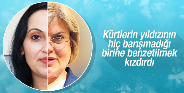 Sol, Yüksekdağ'ı Tansu Çiller'e benzetti HDP'liler kızdı