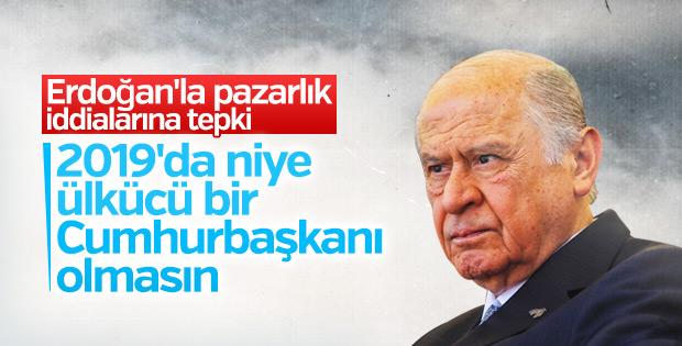 MHP'den Cumhurbaşkanı Yardımcısı iddialarına yalanlama