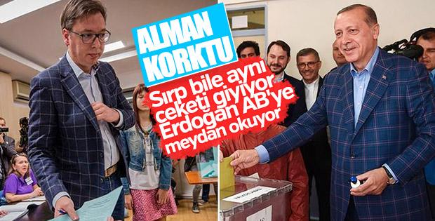 Erdoğan'ın Sırbistan ziyareti Alman medyasında