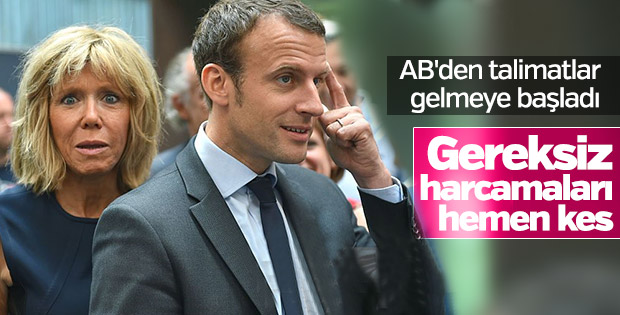 Avrupa Komisyonu başkanı Macron'u uyardı