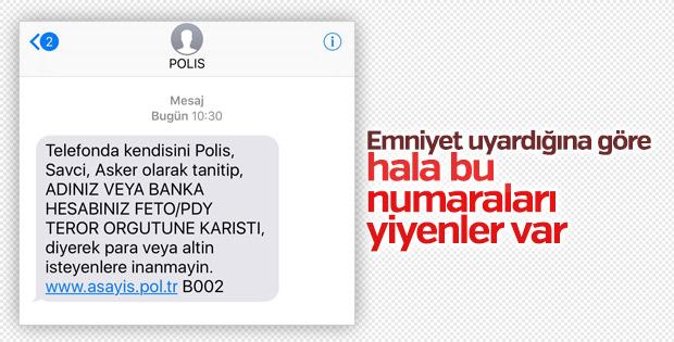 Polis uyarıyor: FETÖ/PDY dolandırıcılarına dikkat