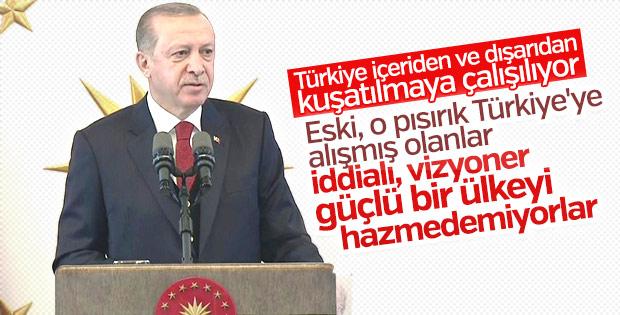 Cumhurbaşkanı Erdoğan valiler toplantısında