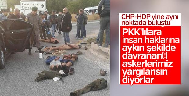 CHP-HDP terörle mücadeleye engel olmak istiyor