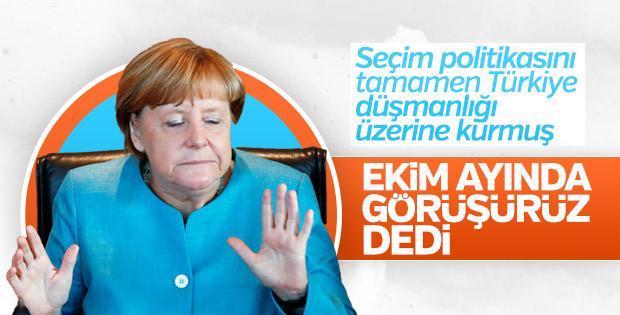 Angela Merkel'den Türkiye'ye AB tehdidi