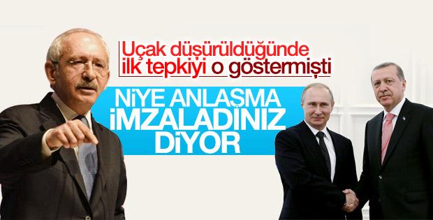 Kılıçdaroğlu'ndan Rusya anlaşmasına tepki
