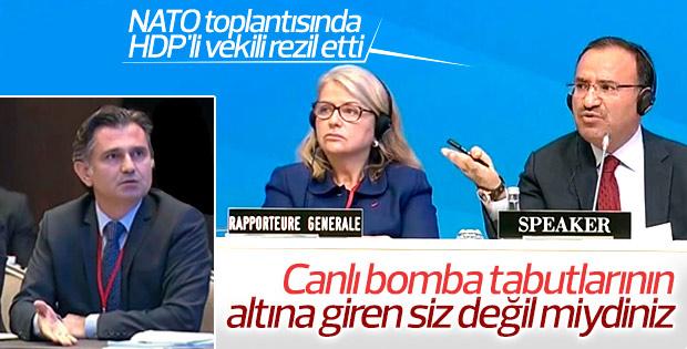 Bakan Bozdağ NATO'ya HDP'lileri anlattı