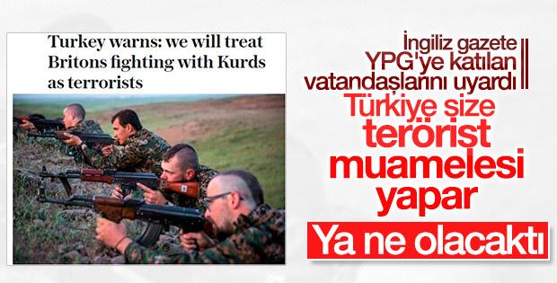 YPG'ye katılan İngilizleri korku sardı