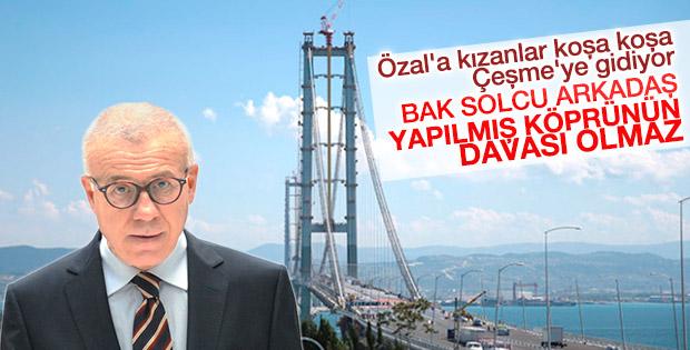 Özkök'ten Osmangazi'yi eleştiren solculara ayar