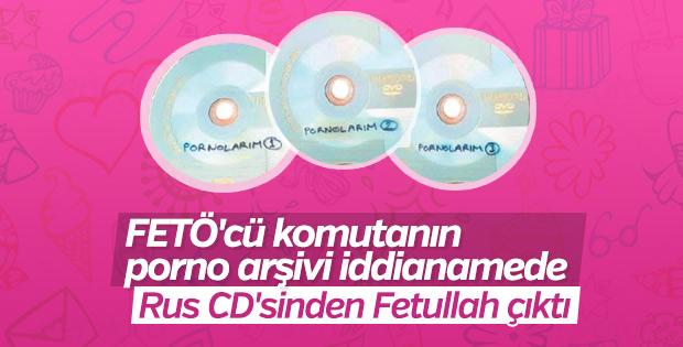 FETÖ arşivleri 'pornolarım' yazılı CD'lerden çıktı