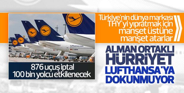Lufthansa'nın pilotları 14. kez iş bırakacak