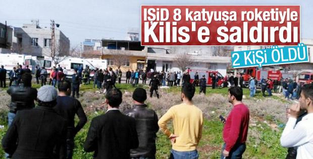 Suriye'den atılan roketler Kilis'e düştü: 2 kişi öldü