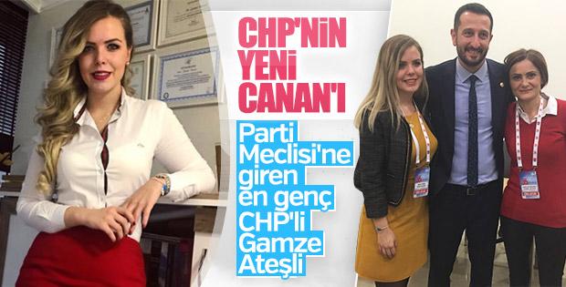 CHP'nin en genç PM üyesi: Gamze Pamuk Ateşli