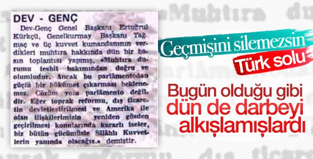 Türk solunun darbe şakşakçılığı