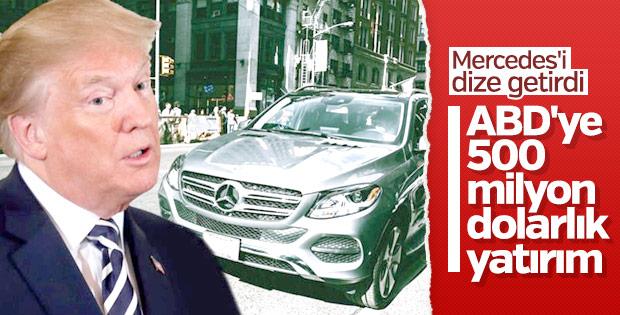 Mercedes ABD'de üretim hattı açtı