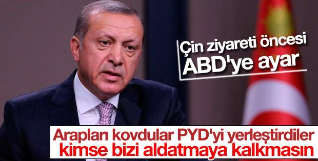 Erdoğan G20 öncesi ABD'ye ayar verdi