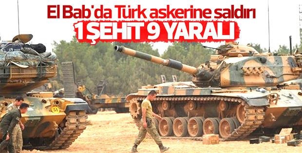 El Bab'da Türk askerine saldırı