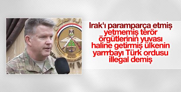 Amerikalı komutan Türk askerine işgalci dedi